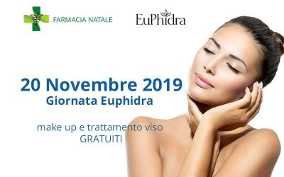 20 Novembre 2019 - Giornata Euphidra con make up e trattamento viso gratuiti