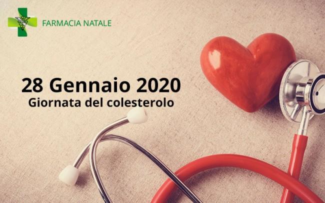 28 Gennaio 2020 - Giornata del colesterolo