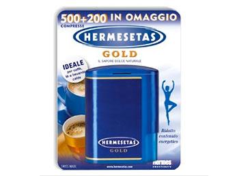 Hermesetas gold 500+200 compresse 35 g