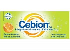 CEBION EFFERVESCENTE VIT C SENZA ZUCCHERO 10 COMPRESSE