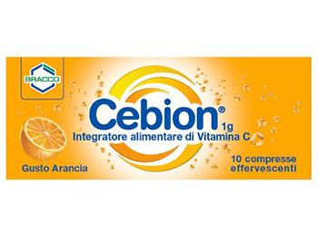 CEBION EFFERVESCENTI VITAMINA C ARANCIA 10 COMPRESSE
