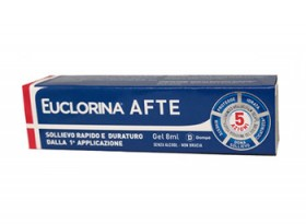 EUCLORINA AFTE GEL 8 ML