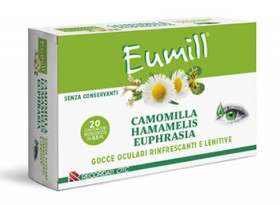 EUMILL GOCCE OCULARI 20 FLACONCINI MONODOSE 0,5 ML