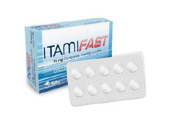 ITAMIFAST*10 cpr riv 25 mg