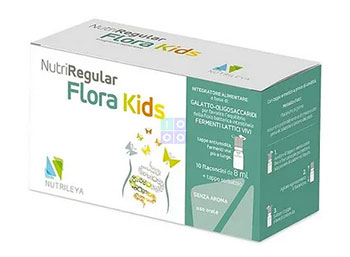 Nutriregular flora kids 10 flaconcini