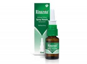 RINAZINA*spray nasale 15 ml 100 mg/100 ml