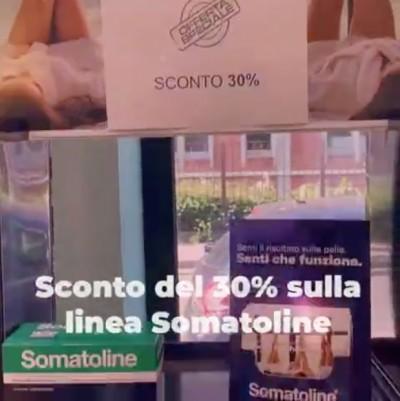 Sconto del 30% sulla linea Somatoline