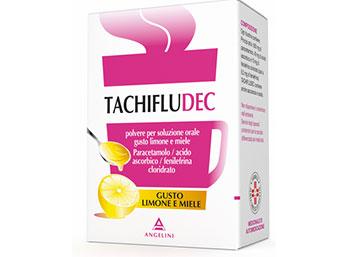 TACHIFLUDEC*orale polv 10 bust limone/miele