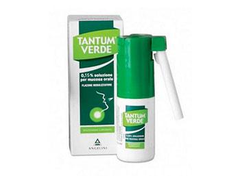 TANTUM VERDE*soluz mucosa orale 15 ml 0,3%