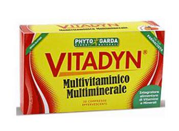 VITADYN MULTIVITAMINICO MULTIMINERALE 30 COMPRESSE EFFERVESCENTI